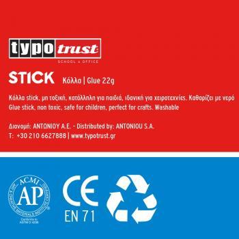 Κόλλα Stick TYPOTRUST 22gr
