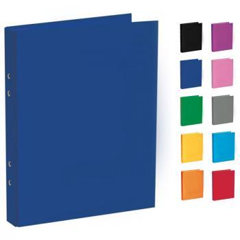 Ντοσιέ σχολικό TYPOTRUST με 4 κρίκους 17x25cm (10 χρώματα)