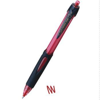 Στυλό διαρκείας UNI SN-220 POWER TANK με κουμπί 1.0 κόκκινο