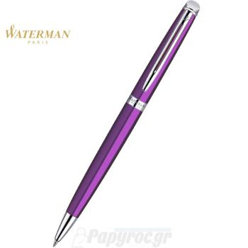 Στυλό Διαρκείας WATERMAN HEMISPHERE LAQUE PURPLE CT 1869015