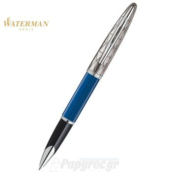 Στυλό Roller Ball WATERMAN CARENE CONTEMPORARY BLUE ST 18K 1904560
