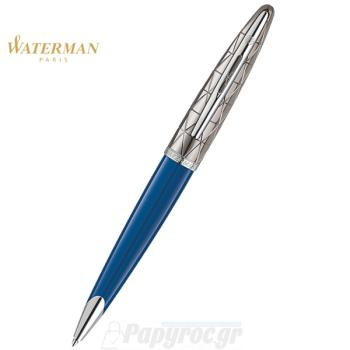 Στυλό Διαρκείας WATERMAN CARENE CONTEMPORARY BLUE ST 18K 1904571