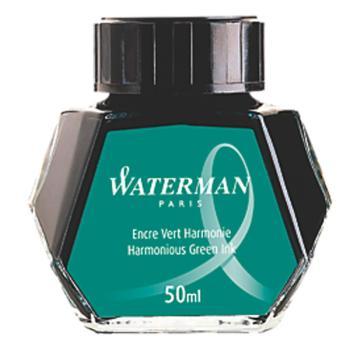 Μελάνι πένας σε μπουκάλι WATERMAN πράσινο 50ml S0110770
