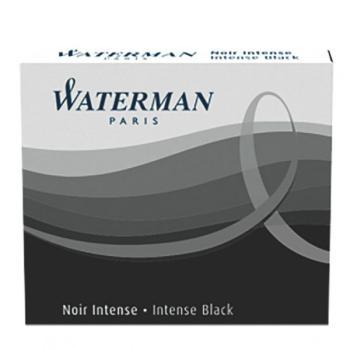 Μελάνι πένας WATERMAN μαύρο (6 ανταλλακτικά) S0110940 MINI