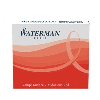 Μελάνι πένας WATERMAN κόκκινο (6 ανταλλακτικά) S0110970 MINI