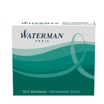 Μελάνι πένας WATERMAN πράσινο (6 ανταλλακτικά) S0110990 MINI