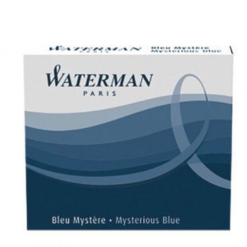 Μελάνι πένας WATERMAN μπλε σκούρο (6 ανταλλακτικά) S0111000 MINI