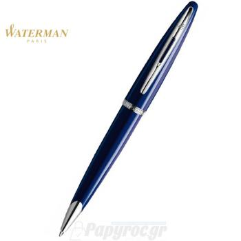 Στυλό Διαρκείας WATERMAN CARENE VIVID BLUE ST 18K S0839500