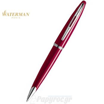 Στυλό Διαρκείας WATERMAN CARENE GLOSSY RED ST 18K S0839620