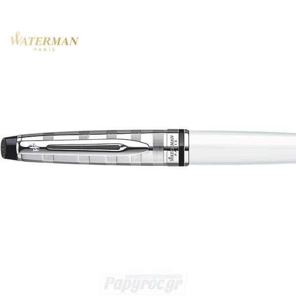 Στυλό Διαρκείας WATERMAN EXPERT DELUXE WHITE CT S0889760