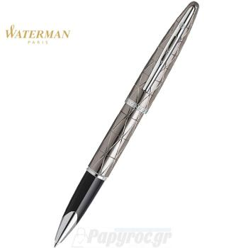 Στυλό Roller Ball WATERMAN CARENE CONTEMPORARY GUN METAL ST 18K S0910030