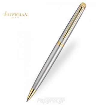 Στυλό Διαρκείας WATERMAN HEMISPHERE STAINLESS STEEL GT S0920370
