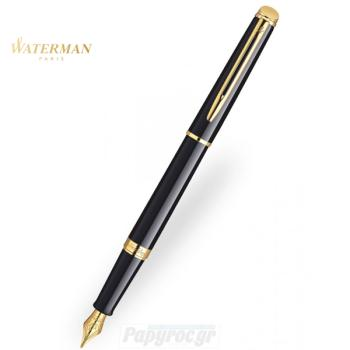 Πένα WATERMAN HEMISPHERE LAQUE BLACK GT S0920630