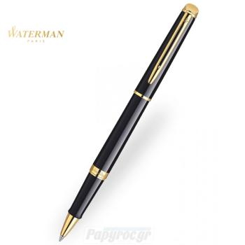 Στυλό RollerBall WATERMAN HEMISPHERE LAQUE BLACK GT S0920650