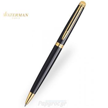 Στυλό Διαρκείας WATERMAN HEMISPHERE LAQUE BLACK GT S0920670