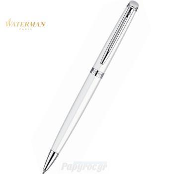 Στυλό Διαρκείας WATERMAN HEMISPHERE LAQUE WHITE CT S0920970