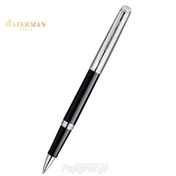 Στυλό RollerBall WATERMAN HEMISPHERE DELUXE BLACK CT S0921130