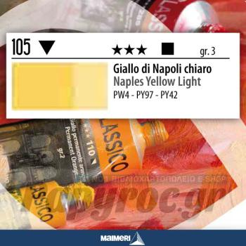 Maimeri Λάδι Classico Naples Yellow Light 20ml 105