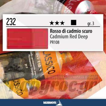 Maimeri Λάδι Classico Cadmium Red Deep 20ml 232