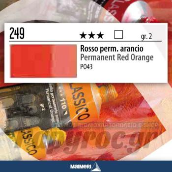 Maimeri Λάδι Classico Permanent Red Orange 20ml 249