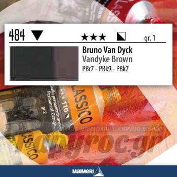 Maimeri Λάδι Classico Vandyke Brown 20ml 484