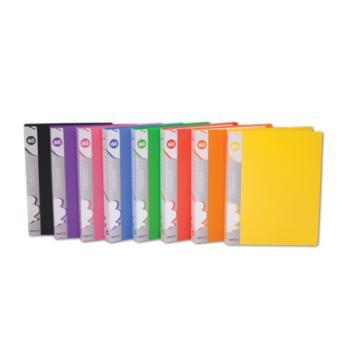 Ντοσιέ παρουσιάσεων TYPOTRUST με 10 διαφάνειες Crystal 8 χρώματα