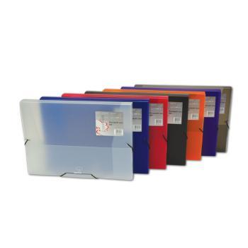 Κουτί λάστιχο TYPOTRUST Α4 με ράχη 3cm 25Χ35 8 χρώματα