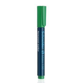 Μαρκαδόροι Ανεξίτηλοι Επαναγεμιζόμενοι Schneider Maxx 130 πράσινοι