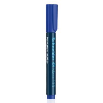 Μαρκαδόροι Ανεξίτηλοι Επαναγεμιζόμενοι Schneider Maxx 133 πλακέ μύτη μπλε