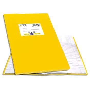 Σχολικό τετράδιο Super Εξήγηση 17X25 Ριγέ Skag 50φ Κίτρινο