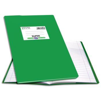 Σχολικό τετράδιο Super Εξήγηση 17X25 Ριγέ Skag 50φ Πράσινο