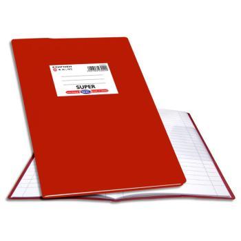 Σχολικό τετράδιο Super Εξήγηση 17X25 Ριγέ Skag 50φ Κόκκινο