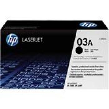 TONER CARTRIDGE HP C3903A 4000 PAGES BLACK