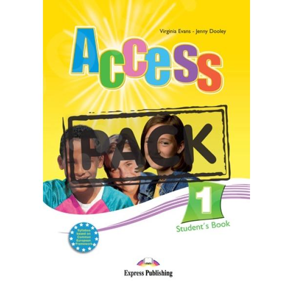 Access 1 - Student's Pack (Student's Book + Νέο ieBOOK & Grammar Book English Edition)
